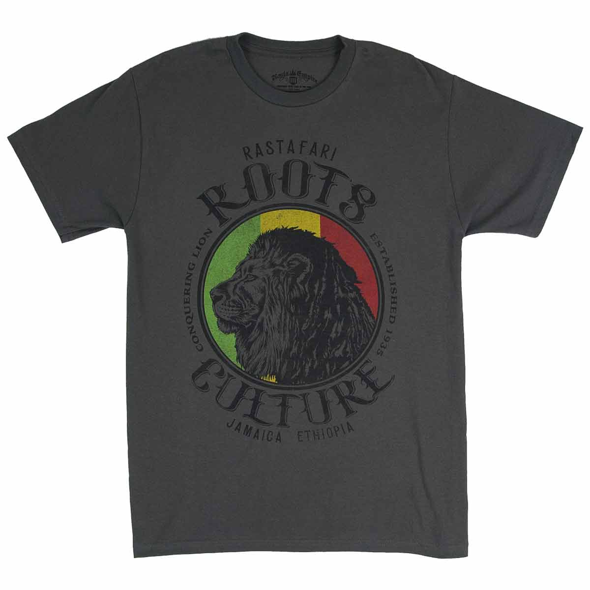 Lion Roots Amp Culture Men S T Shirt Happyrasta Com Au